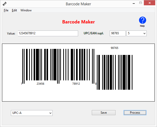 Barcode Maker for Windows