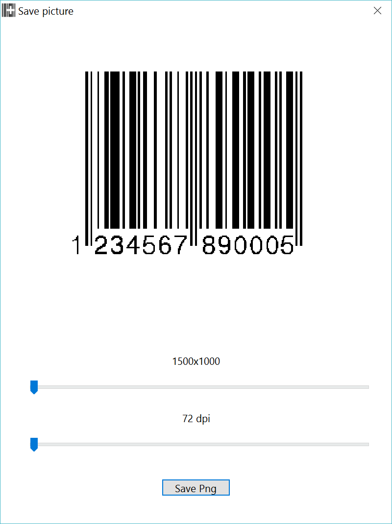 EAN-13 and UPC-A Barcode font for Windows and Mac OS X